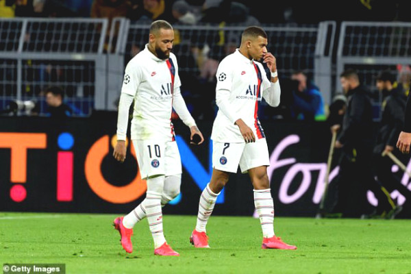 Hot: Ligue 1 officially canceled, Neymar - Mbappe disillusioned champion?