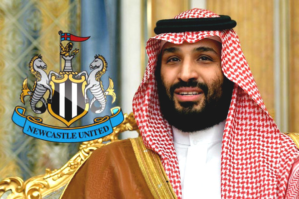 Saudi Crown Prince shocks prone handed on: Newcastle into the hands of American super-billionaire?