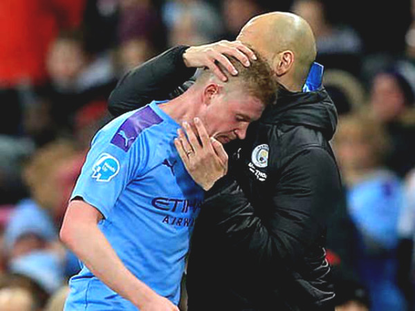 De Bruyne is the most expensive in City history, wants to leave if he cannot play C1 Cup