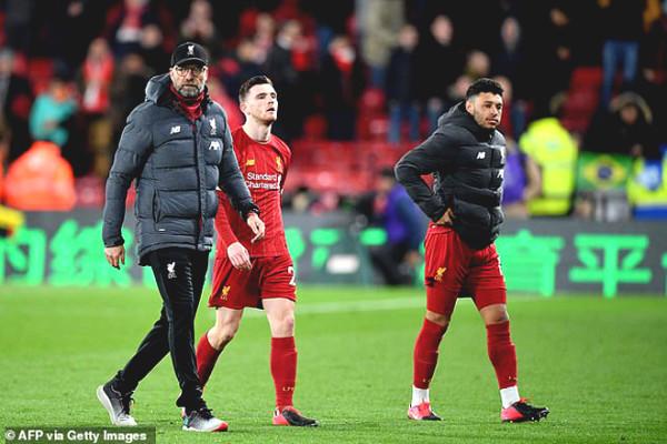 Liverpool Premier League championship, coach Klopp suddenly receive a