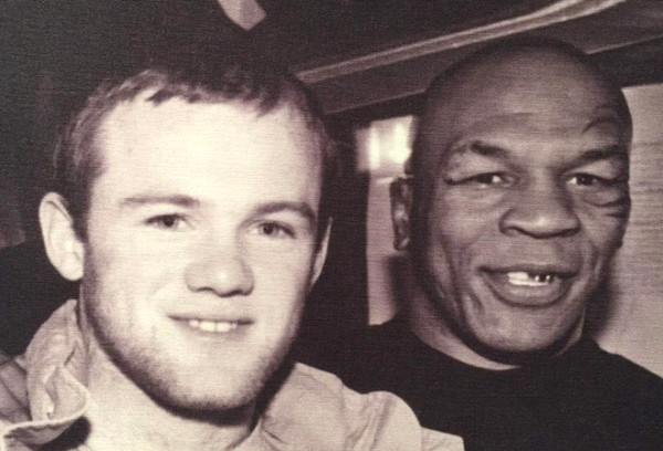 What does Wayne Rooney learn from Mike Tyson?