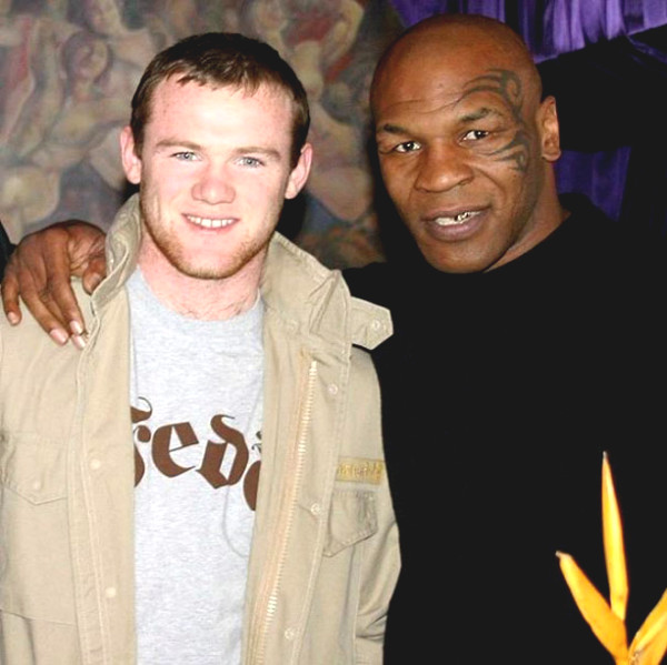 Wayne Rooney Mike Tyson learned anything from the notorious prison?