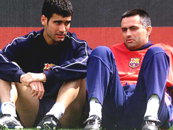2 great coaches Guardiola - Mourinho: how friendship turned into enemies?