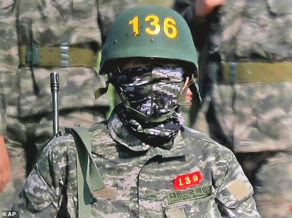 Latest pictures Son Heung-Min soldier: