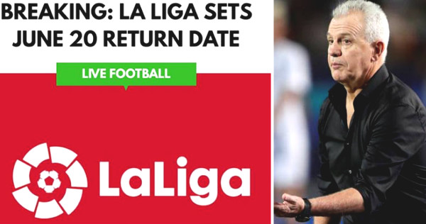 Hot: La Liga plans to be back, Real - Barca championship race in 5 weeks