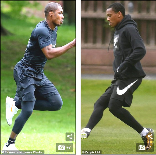 MU stars back to training and meet extremely stringent demands
