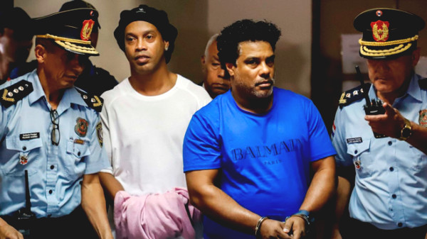 Ronaldinho was offered freedom, ending a 70-day detention