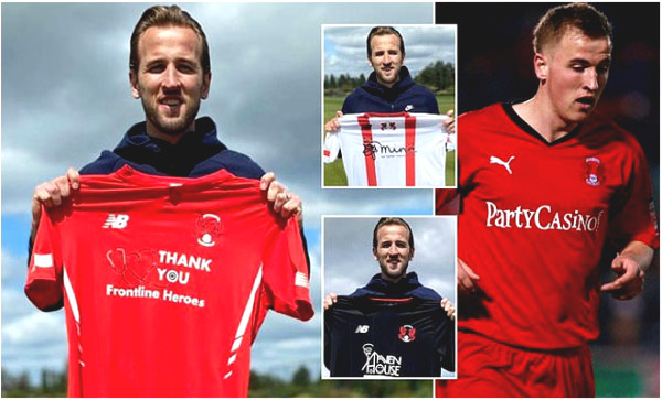 "Hot 15/5 football news: Harry Kane launches the shirt of the ""strange"" team"