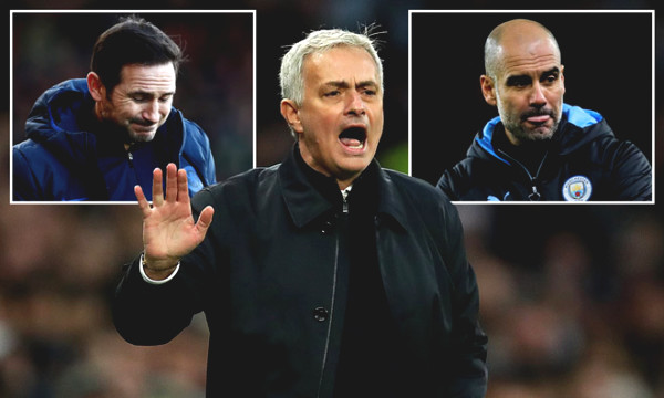Mourinho criticized Pep and Lampard, fearing Premier League to return soon
