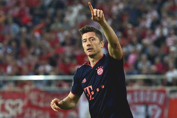 Union Berlin - Bayern Munich live: Lewandowski decided to tail Immobile