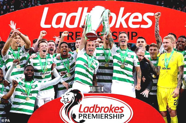 "Scottish League is officially canceled: ""The Boss"" Celtic is champion 9 times in a row"