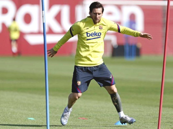 "Messi set extreme ""exercise"" with Barcelona, ​​waiting for La Liga Cup to be back to compete with Real"