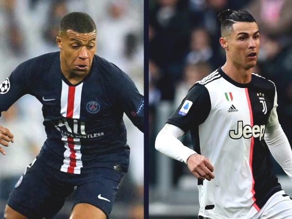 """The rich"" PSG welcomes Ronaldo PSG to replace Mbappe, Juventus goes green light"