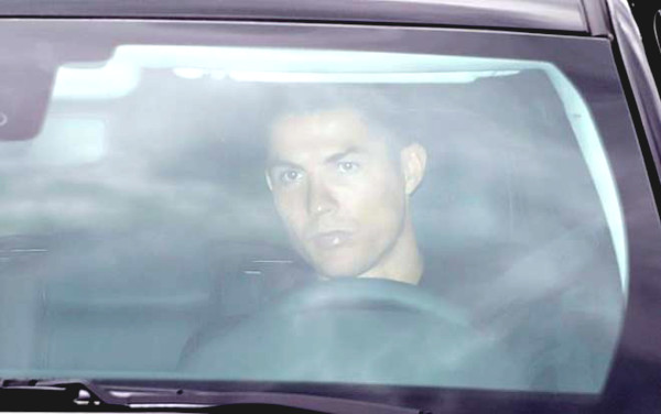 Ronaldo returned to training with Juventus teammates after secret housemate