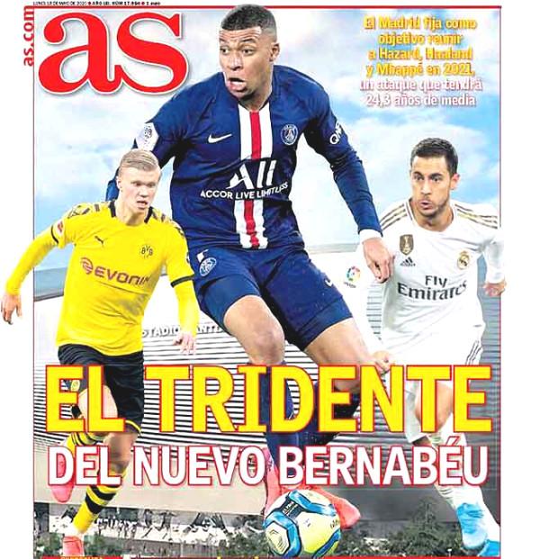 Trio 500 million euros for Real: