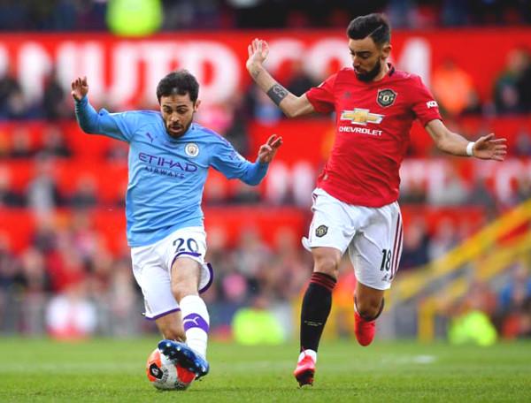 "Portuguese ""civil war"" in England: Bruno Fernandes ""mocks"" Man City star"