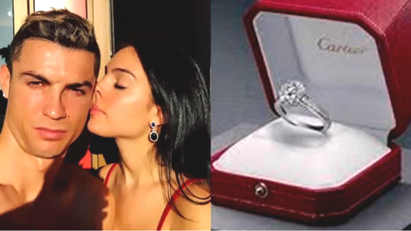 "Ronaldo upcoming ""double happiness"": Beautiful girlfriend babbling pregnancy story, showing off her engagement ring"