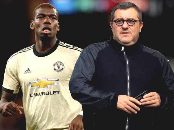 "MU under heart attack for Pogba's future, ""super brokers"" Raiola operating came unexpectedly"