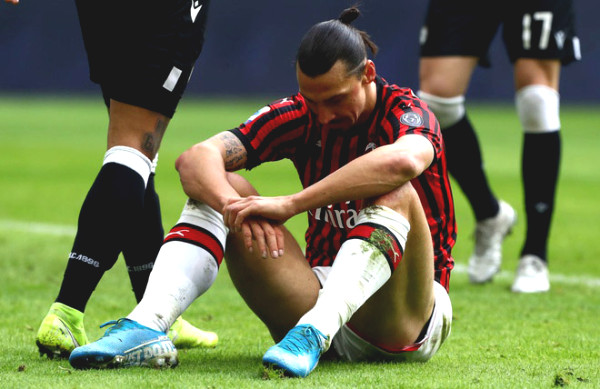 Ibrahimovic is about to retire after bitter training with AC Milan