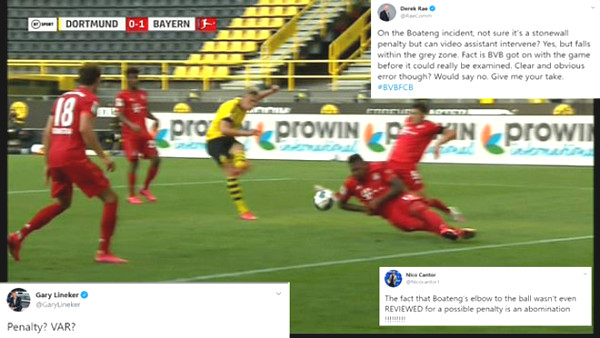 Controversy VAR: Dortmund - Haaland takes the penalty, Bayern are biased?