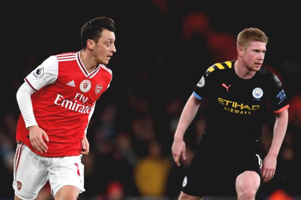 Premiership officially back: Man City Arsenal War stone someday?