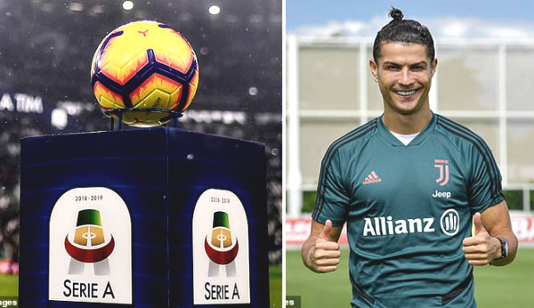 Serie A announced on back: Ronaldo - Juventus continue racing championship