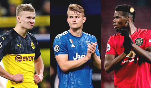 "MU brainstormed with ""super brokers"" Raiola: To decide Pogba, De Ligt, Haaland fates"