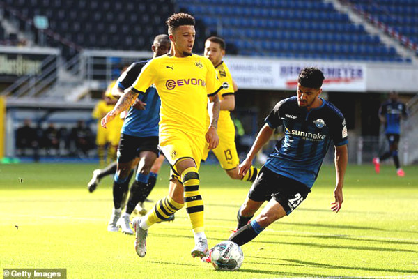 "Sancho flew to the UK voluntarily: Dortmund got angry, MU benefited from ""blockbuster"""