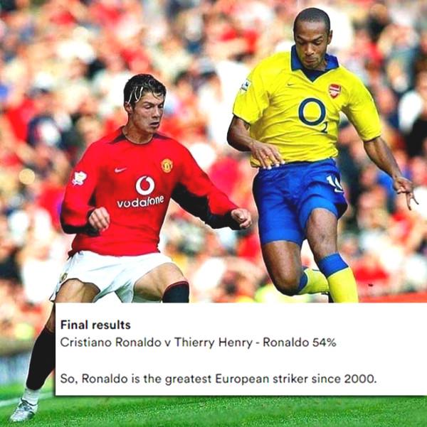 Ronaldo Ronaldo stunned overwhelming