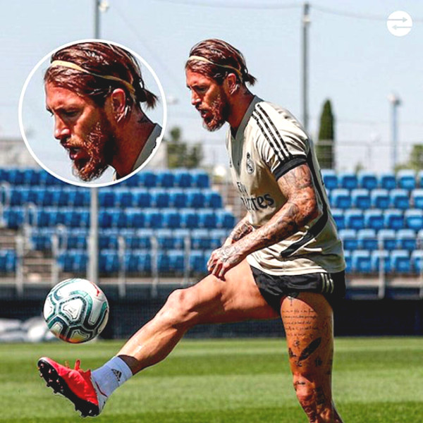 Ramos led the team to face Real severe shock
