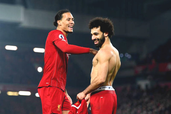 Premier League favors Liverpool: Not champion yet but has available name on the trophy
