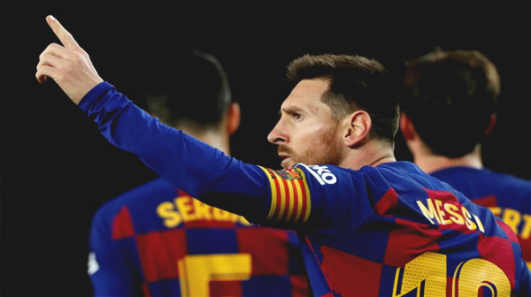 "La Liga - No. 1 European tournament comes back: Messi draws attractive ""curves"""