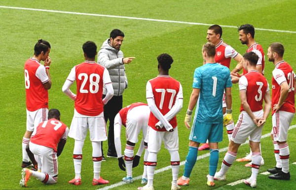 Arsenal lost to the lower ranked team shockingly: a voyeuristic chase with 5 goals