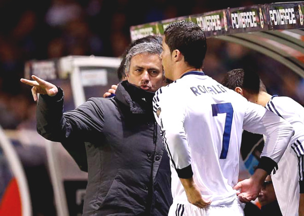 """Mourinho """"released anger"""", Ronaldo planned to punch in the face: Real dressing room secret"""