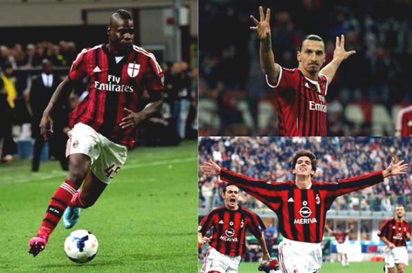 Anonymous club wants to recruit Kaka, Ibrahimovic, Balotelli led Italy riot