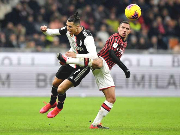 Juventus - AC Milan football Verdict: Ronaldo is 90 minutes away from the final ticket