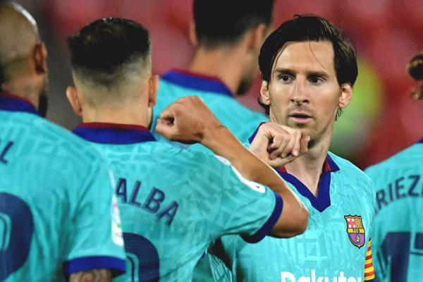Messi fever with a new face extreme physical, Barca fans mixed reactions