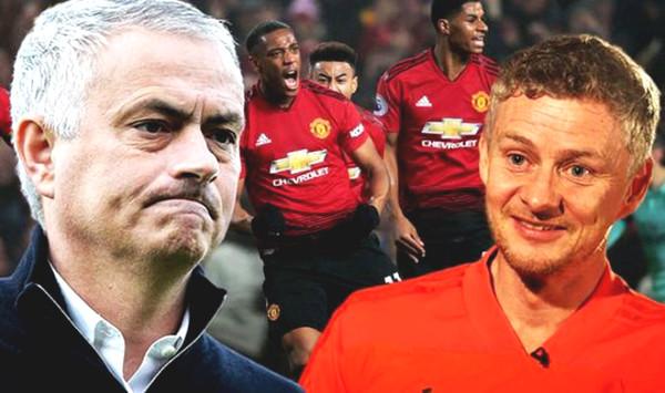 Mourinho-wars before meeting Manchester United, Solskjaer