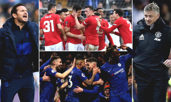 Premier League kicks back: Choking on the top 4 race, Manchester United or Chelsea have the advantage?