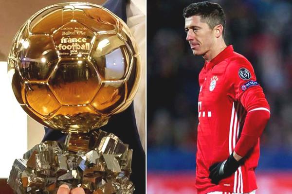 Lewandowski treble dream glowed, reached Messi - Ronaldo took home Golden Ball?