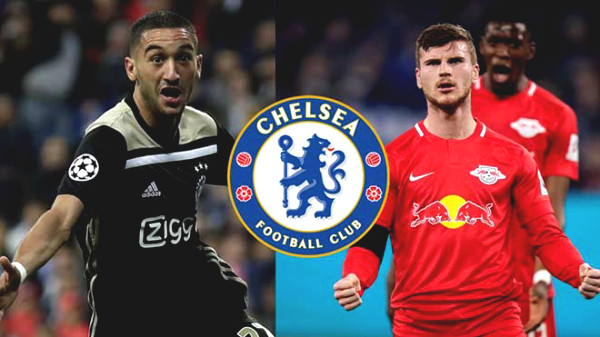 """Chelsea finished buying Timo Werner: 2 """"blockbusters"""" of 150 million pounds are waiting to join"""