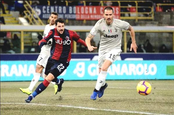 Verdict Soccer Bologna - Juventus: Ronaldo angry,