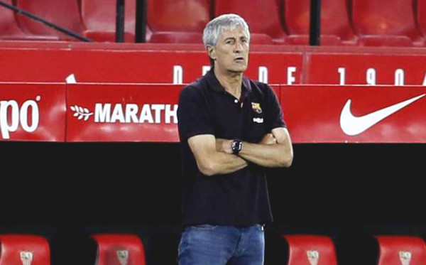 Startled with Barca after 15 matches under Setien: as fade as Valverde