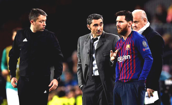Startled Barca after 15 matches when Setien: Fade no different from Valverde
