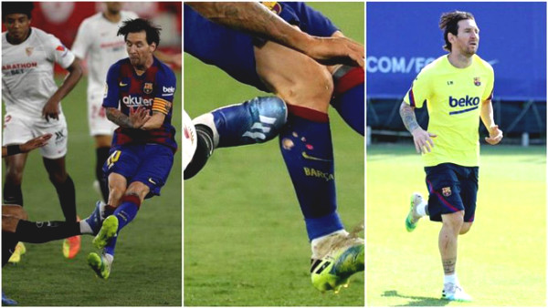 Highway reason Messi angry, pushed rival: Heartbreaking long scratches on foot