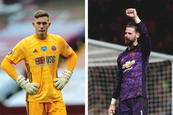 MU goalkeeper service dilemma: De Gea Henderson claim dismissed immediately returned