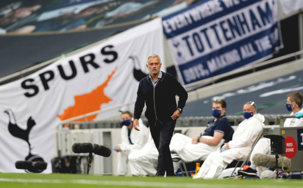Strange how Mourinho felt pity for rival when Tottenham thrashed West Ham