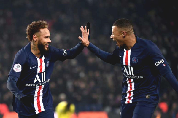 Shocking: PSG has 4 positive cases of Covid-19. Are Neymar-Mbappe safe?