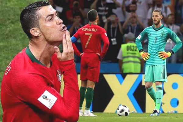 De Gea consecutive mistakes that MU grudge, Ronaldo is the