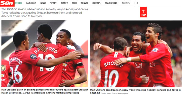 MU victory: British newspapers hailed 5 STAR morning, won the C1 Cup tickets are not dreaming